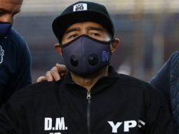 Revelaron la última arenga de Maradona al plantel de Gimnasia