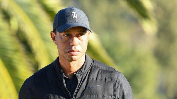 """El mensaje de Tiger Woods luego del accidente: """"Estoy muy agradecido"""""""