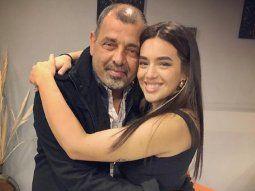 El padre de Ángela Leiva murió por covid: se lo detectaron un día después de superar el cáncer