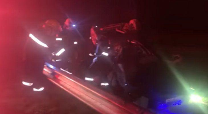 Primeras imágenes desde el lugar del accidente de Mario Meoni