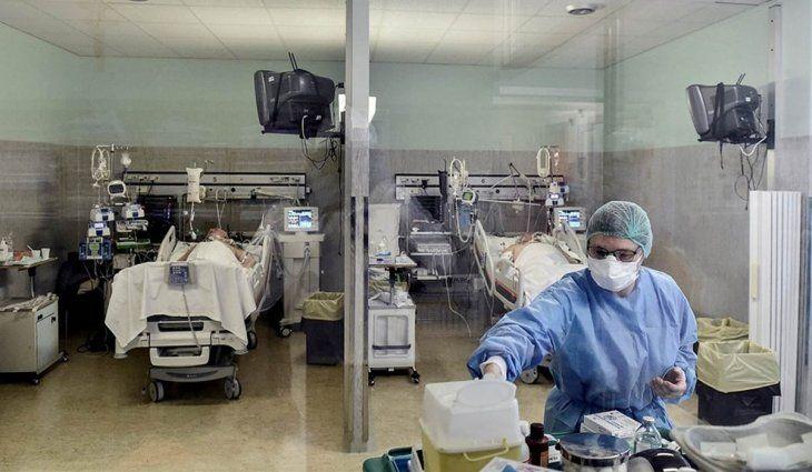 La Provincia advierte que 6 de cada 10 pacientes con covid que entran a terapia intensiva mueren