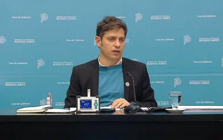 VIVO: Axel Kicillof brinda detalles sobre la situación epidemiológica de la Provincia