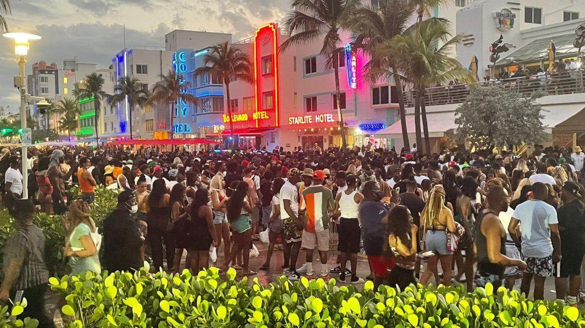 Declararon el estado de emergencia en Miami luego del descontrol que se vivió en la spring break