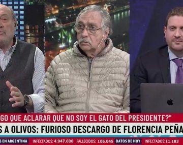 Brandoni defendió a Florencia Peña y dejó mudos a los periodistas militantes del macrismo Leuco y Viale