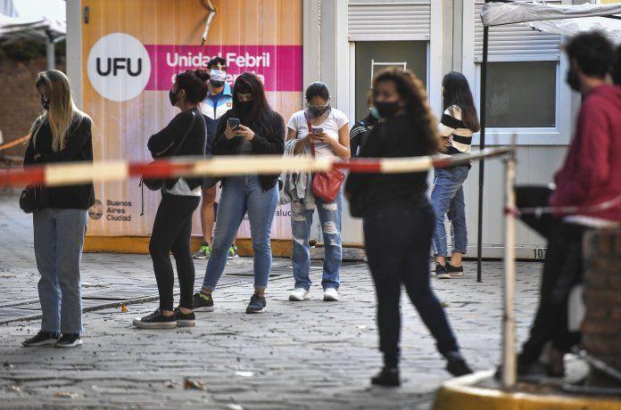La Ciudad de Buenos Aires registró un récord diario de casos de coronavirus