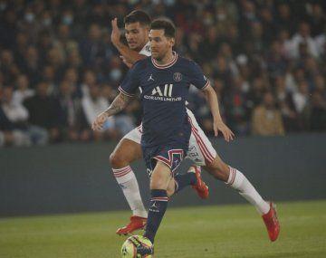 Agónico triunfo del PSG ante el Lyon con Lionel Messi como titular