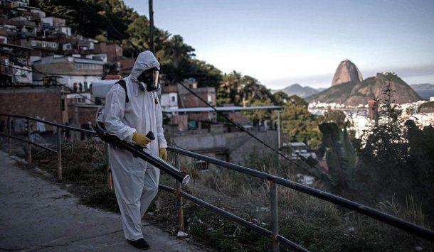 Brasil superó a Estados Unidos en casos nuevos de coronavirus