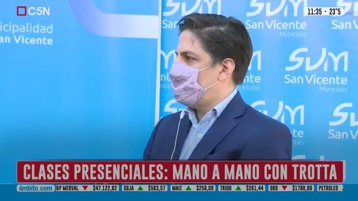 Trotta cuestionó al Gobierno porteño: Pone en riesgo a toda la Argentina
