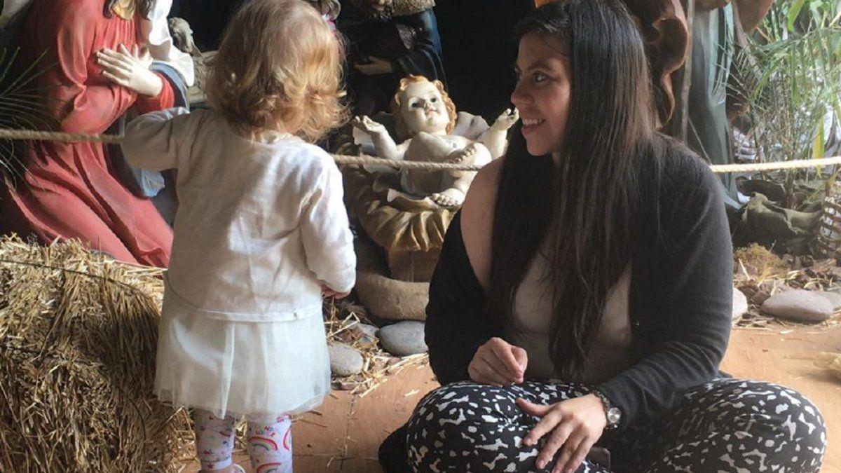 Ella no, por favor: la noticia de su hija que le parte el