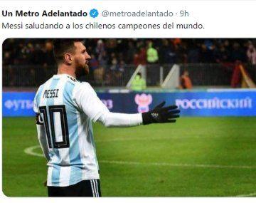 Eliminatorias: los mejores memes del Argentina - Chile
