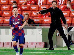 Simeone contó el intento que hizo para fichar a Messi