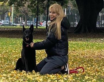 El perro de Graciela Alfano atacó a un diariero: cayó la Policía el SAME e intervino una fiscalía