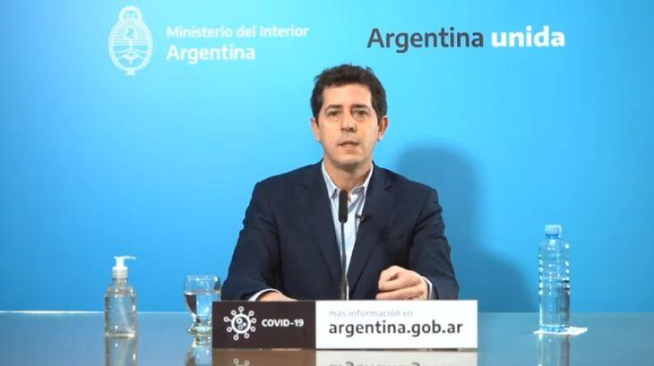 Wado de Pedro para la oposición: Parece que quieren democracia sin Congreso y federalismo sin provincias