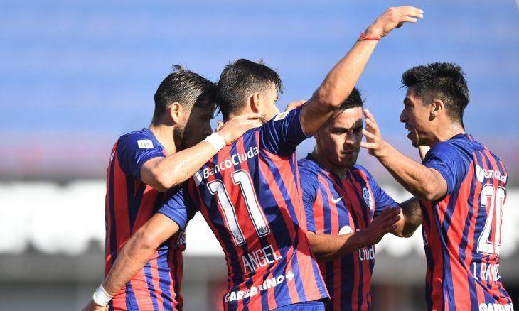 San Lorenzo venció 1 a 0 a Godoy Cruz y se mantiene en zona de clasificación