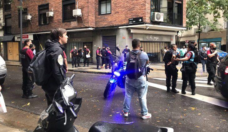 Inseguridad: vecinos ayudaron a detener a un ladrón. Crédito de la imagen: @LetiMarcolongo