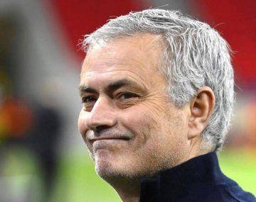 José Mourinho es el nuevo entrenador de la Roma