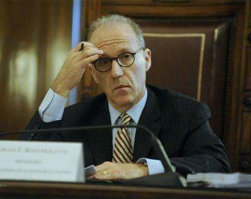 Carlos Rosenkrantz, presidente de la Corte Suprema de Justicia