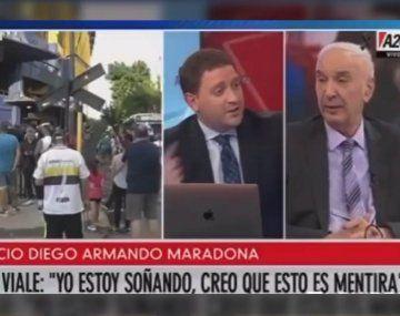 Mauro Viale defendía su posición respecto a la cuarentena en charlas inolvidables con su hijo Jonatan