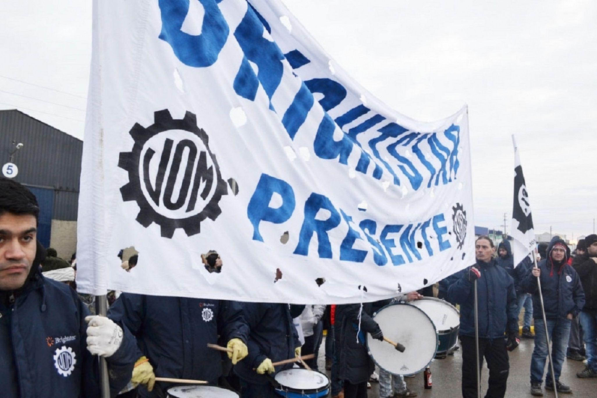 La UOM acordó una suba del 28% en las paritarias 2019