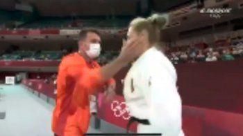Habló la judoca a la que le dieron un cachetazo: Es el ritual que yo elegí