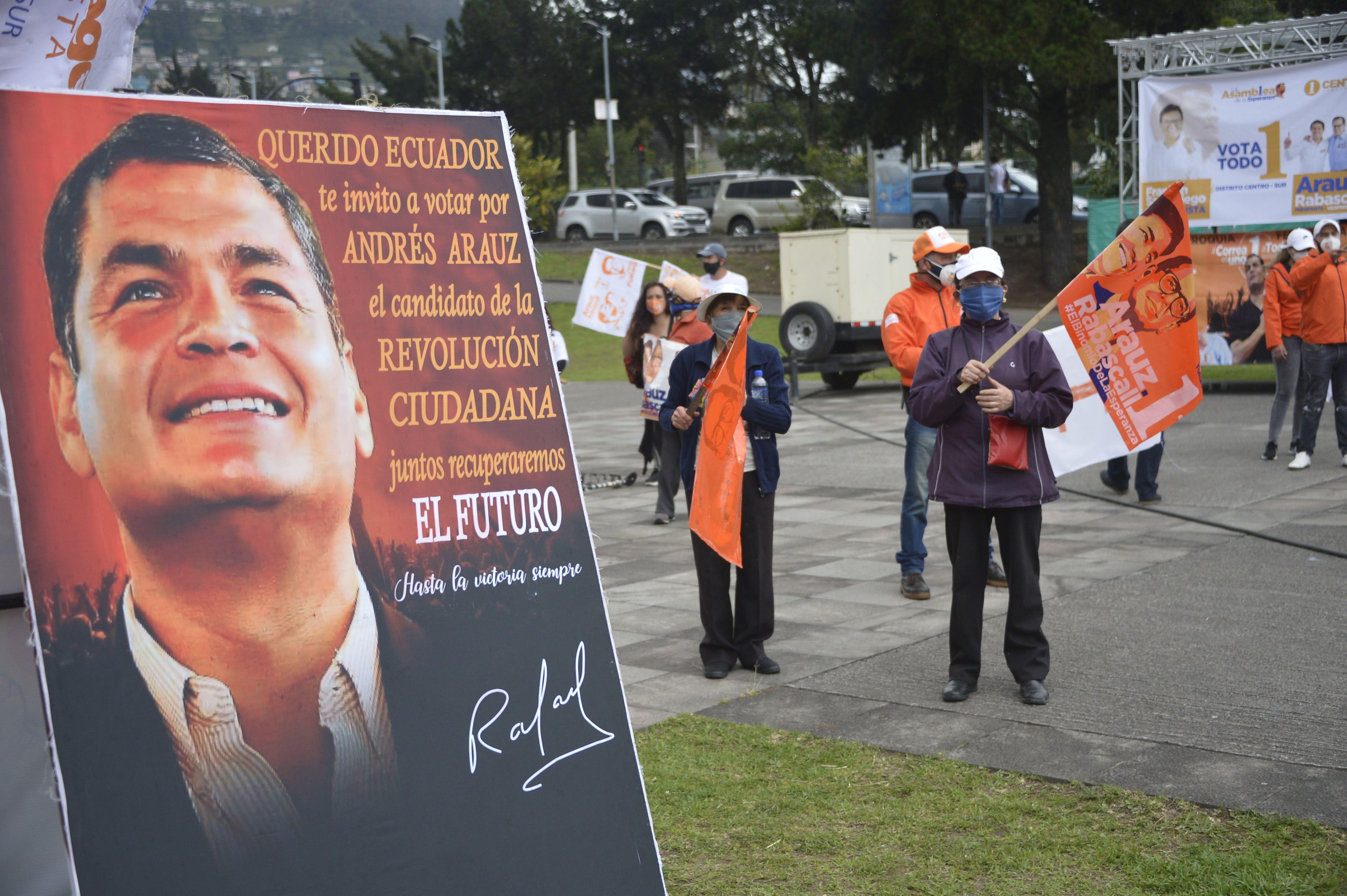 Elecciones en Ecuador: el banquero Guillermo Lasso y el economista Andrés Arauz van por la presidencia