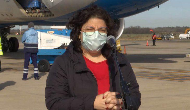 Carla Vizzotti: En noviembre evaluaremos la tercera dosis
