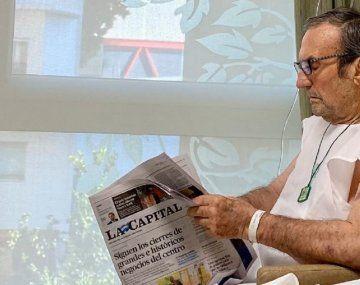 Cristina Kirchner lamentó la muerte de Reutemann