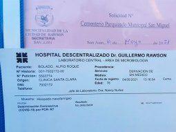 Denunciaron que una clínica por entregar el cadáver de su padre a otra familia