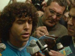 Los famosos ya palpitan el estreno de la serie sobre Diego Maradona