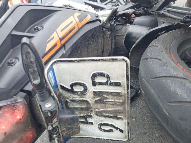 Un policía retirado abatió a un motochorro que le disparó al intentar robarle su camioneta
