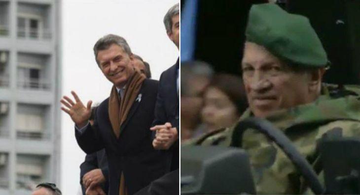 Del cansancio de Macri a la aparición de Aldo Rico, las perlitas del Bicentenario