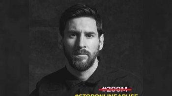 messi celebro los 200 millones de seguidores en instagram con un mensaje contra el abuso