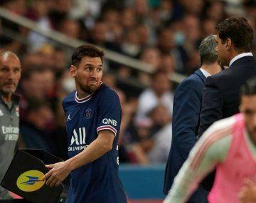 El enojo de Lionel Messi con Pochettino tras ser reemplazado en el partido