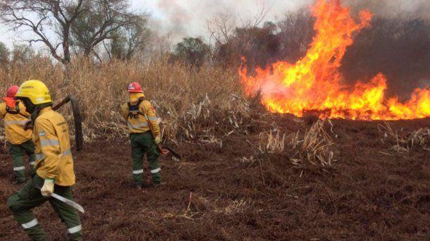 Incendios forestales en El Bolsón, Río Negro