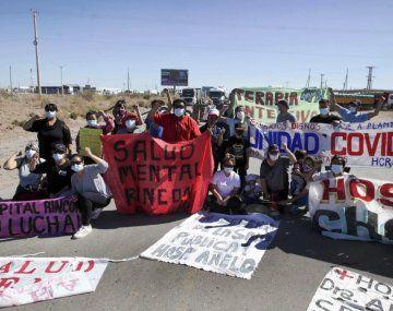 El conflicto con trabajadores de la salud ya lleva dos semanas en Neuquén