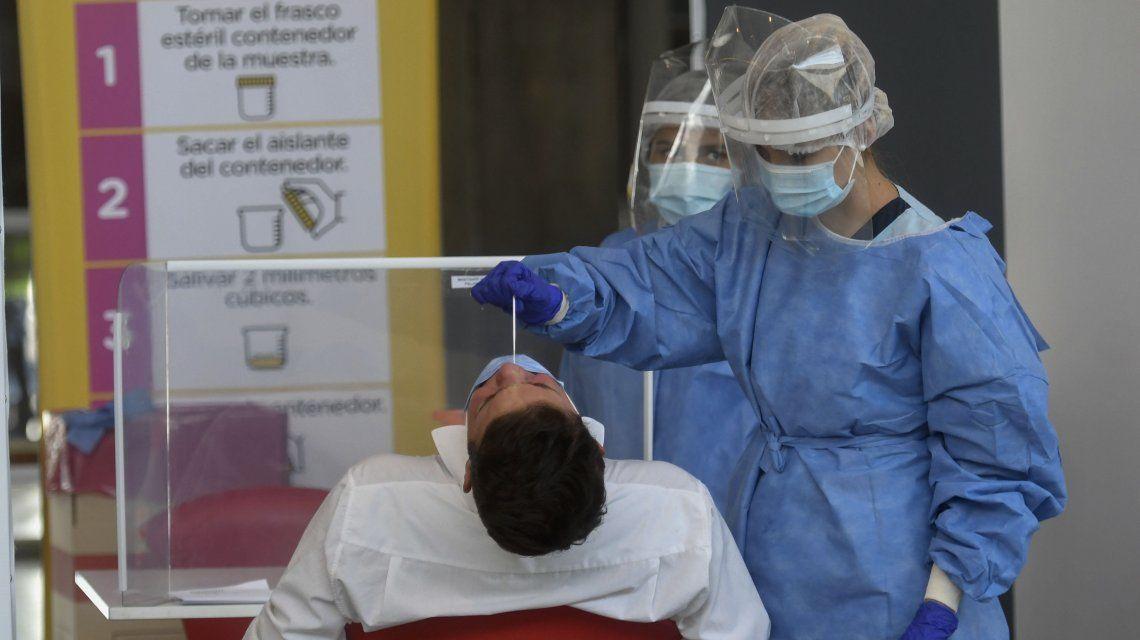 Coronavirus en Argentina: 212 nuevas muertes y 20.906 contagios en las últimas 72 horas