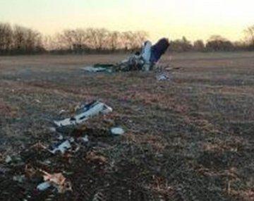 Cayó una avioneta de una escuela de vuelo y hay dos muertos