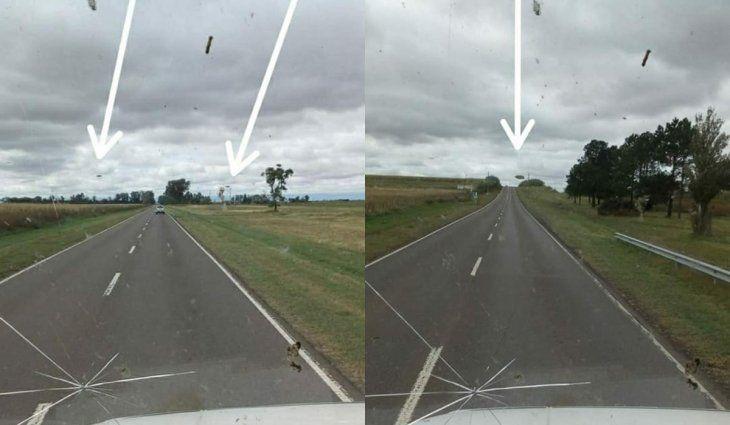 Viral: un camionero vio OVNIs en Córdoba