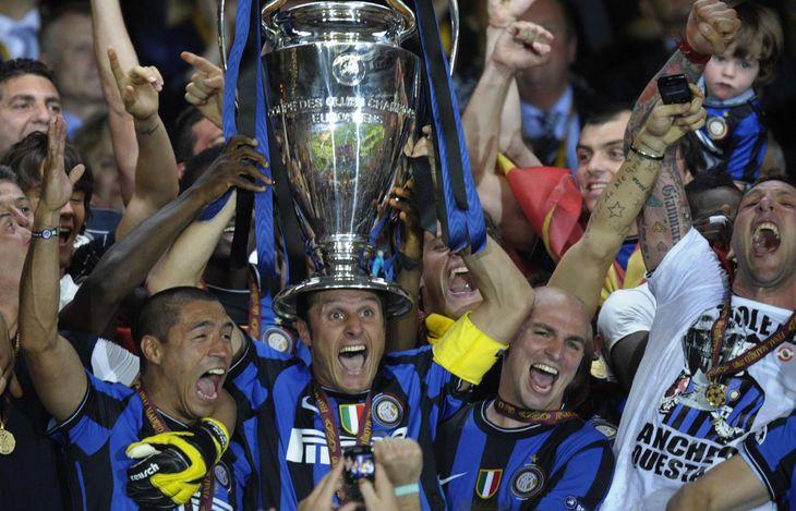 A diez años del Inter campeón de la Champions League con cuatro argentinos