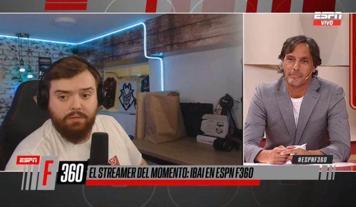 Ibai Llanos cruzó en vivo a Gustavo López: No tienes nada bueno