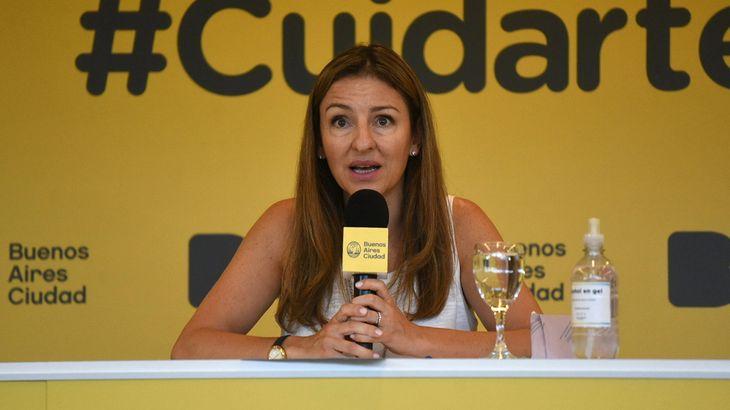 Ciudad: Soledad Acuña tiene coronavirus