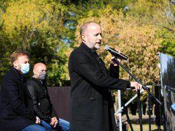 Martín Insaurralde presentó un nuevo programa de ayuda social en Lomas de Zamora