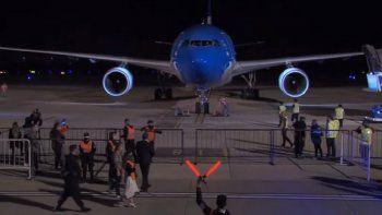 partio un nuevo vuelo de aerolineas argentinas a rusia en busca de mas vacunas sputnik v