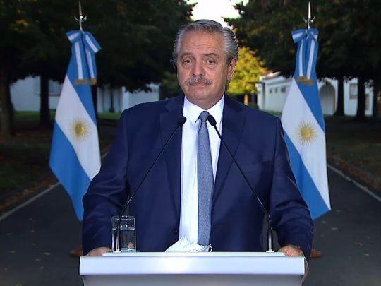 Alberto Fernández anunció las nuevas restricciones: La Argentina ha entrado  en la segunda ola