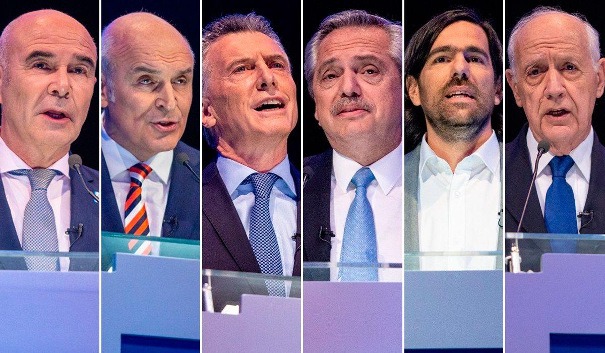 Último round entre los candidatos presidenciales antes de las elecciones del próximo domingo