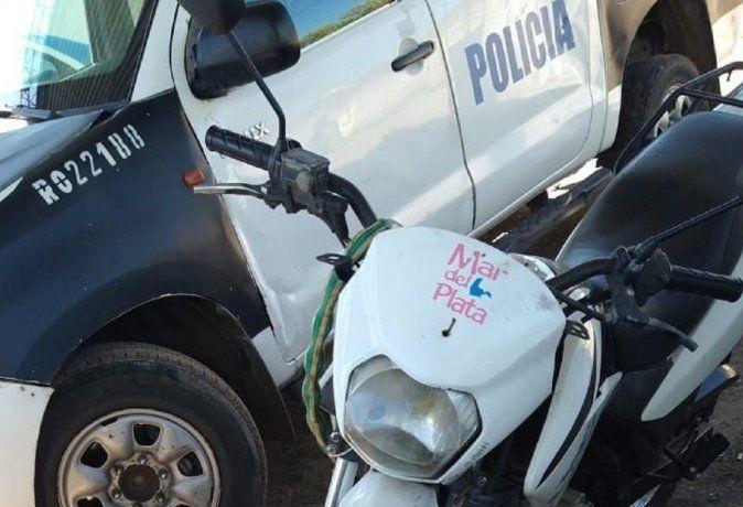 Le robaron la bicicleta y se encontró al ladrón en la cola del banco