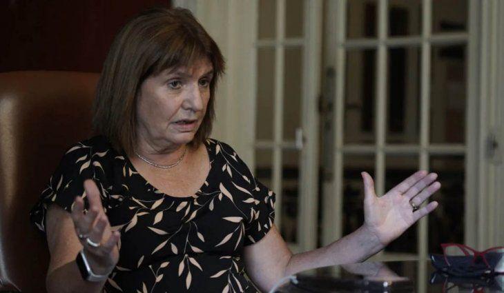 Denunciaron a Patricia Bullrich por ofensa a un símbolo patrio tras sus dichos sobre las Malvinas