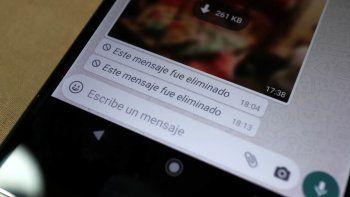 whatsapp: metodos y apps para recuperar mensajes eliminados