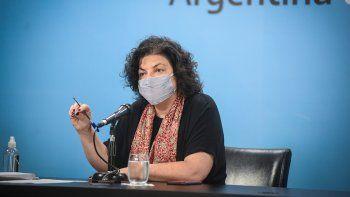 coronavirus: carla vizzotti brinda este jueves una nueva conferencia de prensa
