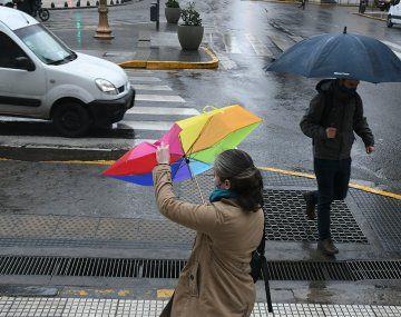 Hay alerta amarillo por fuertes vientos en la Ciudad y varias provincias